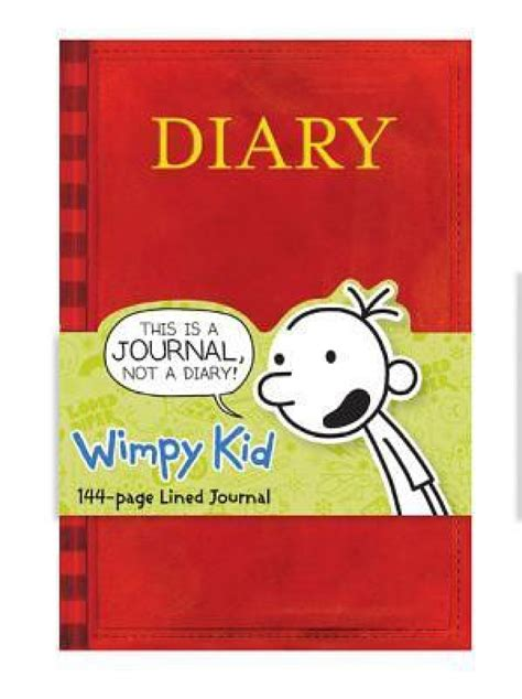 Diary Of A Wimpy Kid Book Journal Buy Diary Of A Wimpy