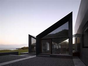 Modern House Sloped Roof
