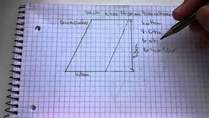 Wie Quadratmeter Berechnen : volumen eines prismas berechnen so geht 39 s youtube ~ Themetempest.com Abrechnung