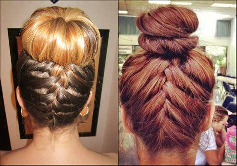 braided bun hairstyles to look cool nice hairstyles