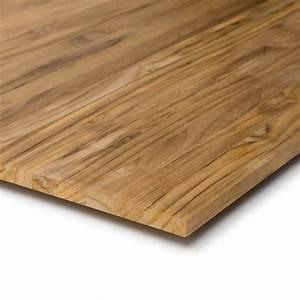Holz Für Möbelbau : massivholzplatte teakholz 18mm kaufen m belbau ~ Michelbontemps.com Haus und Dekorationen