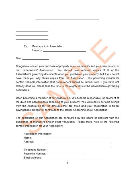 association  letter   member  contact