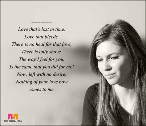 sad love poems     love poems  express