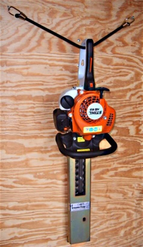 hedge trimmer rack enclosed trimmertrap