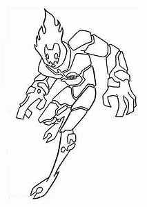 ben 10 heatblast coloring pages coping skills With wiringmod2