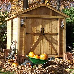 Outdoor, Living, Today, Spacemaker, 8, Ft, W, X, 12, Ft, D, Wood, Storage, Shed, U0026, Reviews