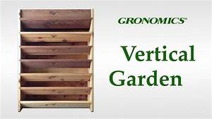 Gronomics vertical garden youtube for Gronomics vertical garden