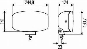 Hella Jumbo 320ff Driving  U0026 Fog Lamp