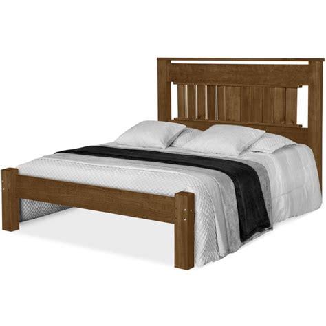 cama casal em madeira macica sabrina imbuia atraente moveis