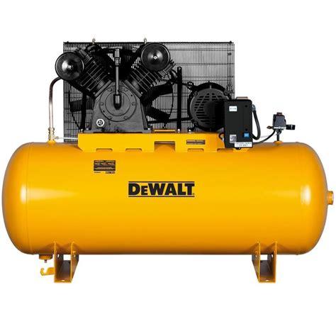 Storage Ideas Kitchen - shop dewalt 120 gallon electric horizontal air compressor at lowes com