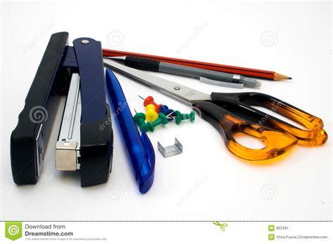 papeterie de bureau papeterie de bureau image stock image 962391