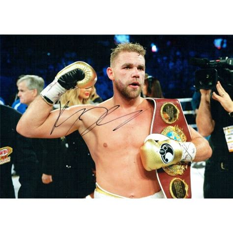 Billy Joe Saunders Signed 8x12 Boxing Photograph 26610