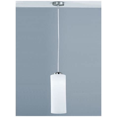 franklite modern 1 light satin nickel ceiling pendant