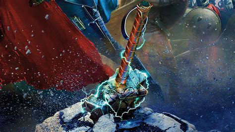 hammer of thor hd wallpaper bigcbit com agen resmi