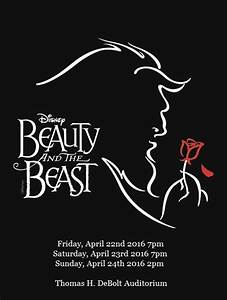 Disney39s Beauty And The Beast At Manassas Park High School Performances April 22 2016 To