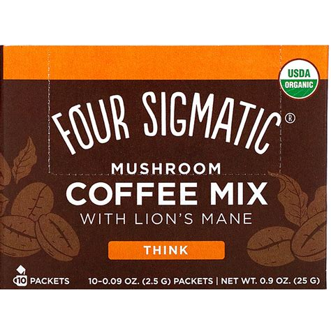 Simply boil the water and mix it will for the. Four Sigmatics - Mushroom Coffee Mix With Lion's Mane $14.99 - PlantX