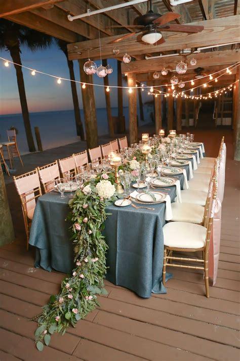 Elegant Bohemian Beach Wedding Inspiration Wedding