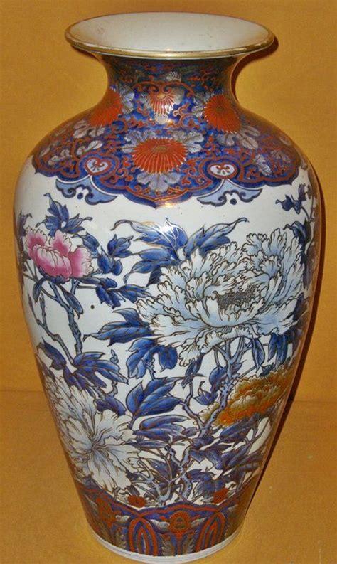 antique japanese meiji period large imari vase japanese