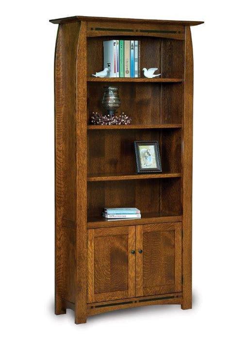 boulder creek mission oak bookcase  dutchcrafters