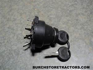 New Ignition Key Switch For John Deere 1020  1030  1120
