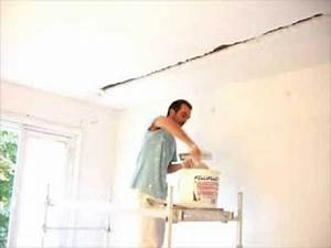 Reboucher Trou Mur Placo : rebouchage de saigner youtube ~ Melissatoandfro.com Idées de Décoration