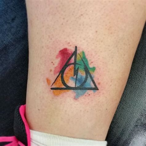 harry potter tattoos    cool theyre magical