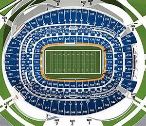 Denver Broncos Seating Chart Sports Authority Field Seat