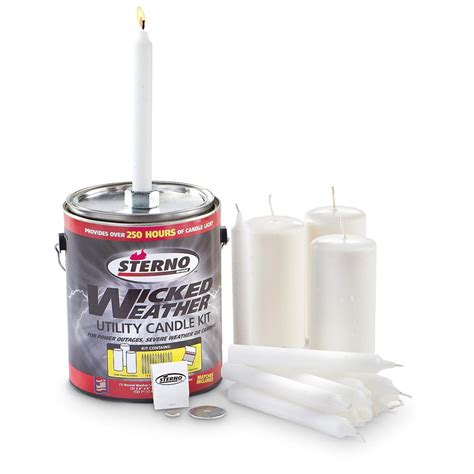 sterno candle l sterno 174 weather emergency candles 292076