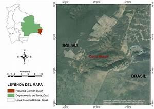 Mapa de ubicación del Cerro Mutún Provincia Germán Busch ...
