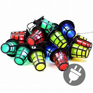 Lampions Mit Led : lichterkette 20 led bunt garten laterne lampions ~ Watch28wear.com Haus und Dekorationen