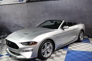 2018 Mustang GT Convertible