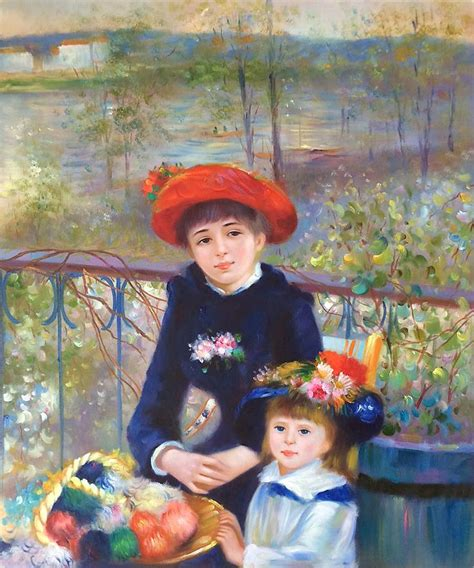 renoir two on the terrace 1000 images about renoir on on