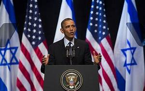 Obama urges young Israelis to build trust with neighbors ...