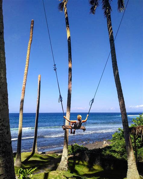 in swing 6 places in bali that swing with an epic backdrop