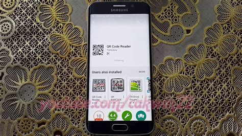 how to scan qr code samsung galaxy s6 or s6 edge youtube