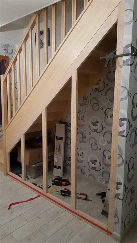 amenager un dessous d escalier am 233 nagement sous escalier par bruno60570 sur l air du bois