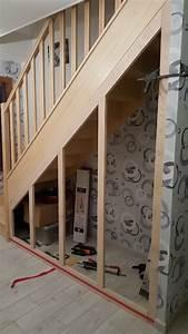 Amenager Sous Escalier : am nagement sous escalier par bruno60570 sur l 39 air du bois ~ Voncanada.com Idées de Décoration