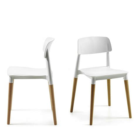 Chaises Design Scandinave by Chaise Design Scandinave Blanche Ou Glamwood