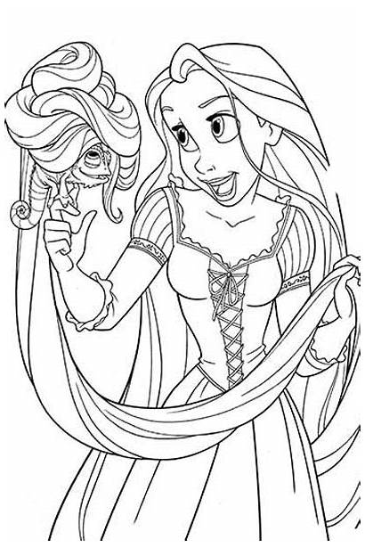 Coloring Pages Disney Tangled