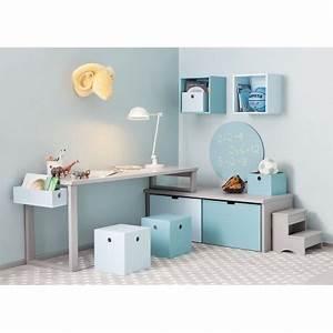 Table Enfant Avec Rangement : espace bureau d 39 enfants avec rangement design par asoral ~ Melissatoandfro.com Idées de Décoration