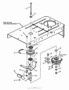 Snapper Hz14330bve 33 U0026quot  14 Hp Ztr Yard Cruiser Series 0 Parts Diagram For Clutch Assembly