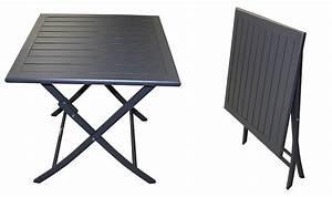Salon De Jardin Pliant : salon de jardin pliant 2 places en aluminium ~ Dailycaller-alerts.com Idées de Décoration
