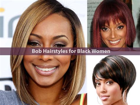 Latest 30 Bob Hairstyles For Black Women 2018