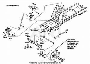 Troy Bilt 13039 16hp Hydro Garden Tractor  S  N