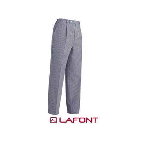 pantalon cuisine pas cher pantalon de boulanger pied de poule et pas cher en coton