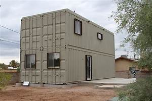 Touch the wind : Tucson Steel Shipping Container House