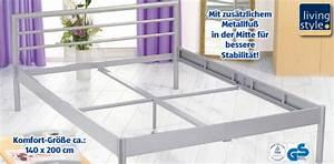 Living Style Möbel : living style metallbett von aldi s d ansehen ~ Watch28wear.com Haus und Dekorationen