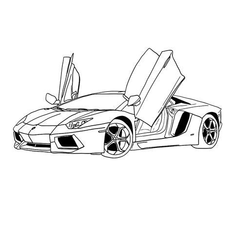 Auto Kleurplaat Lamborghini by Leuk Voor Kleurplaat Kleurplaten En