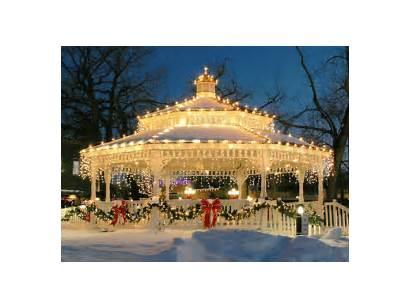 Christmas Lights Glimmering