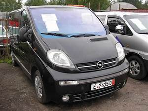 Dimension Opel Vivaro : used 2002 opel vivaro photos 1900cc gasoline ff for sale ~ Gottalentnigeria.com Avis de Voitures